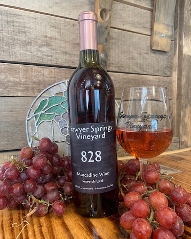 828 | Muscadine Wine award winning wine photo