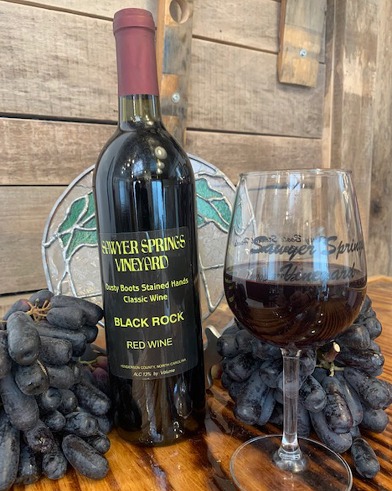 Black Rock | Red Wine award winning wine photo
