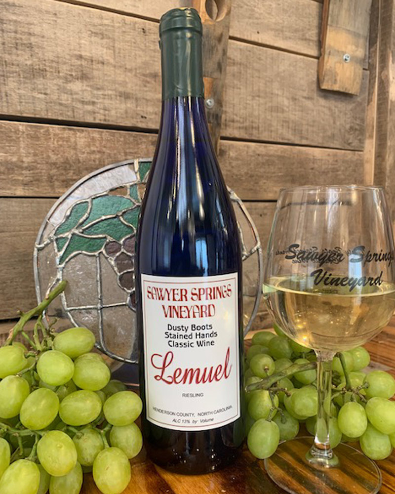 Lemuel award winning wine photo