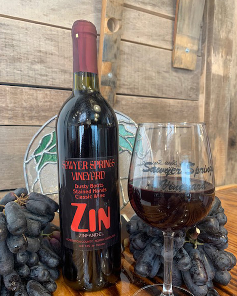 Zin | Zinfandel award winning wine photo